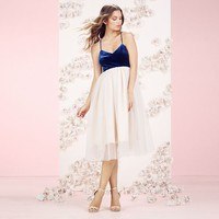 LC Lauren Conrad Runway Collection Velvet & Tulle Dress - Women's
