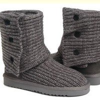 Grey Classic Cardy UGG Boots [5819 Grey] - $76.69 :