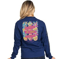 She Believed She Could So She Did - Pineapples - SS - Adult Long Sleeve