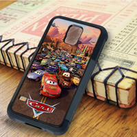 Cars Lightning McQueen Piston Cup   For Samsung Galaxy S6 Cases   Free Shipping   AH1007