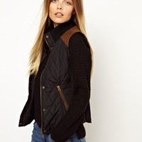 Vero Moda Quilted Gilet Jacket at asos.com