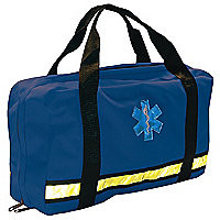 EMI Flat Pac Bag,Navy, 16 In. L - Medical Equipment Bags and Cases - 15U912|846 - Grainger Industrial Supply