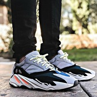 Adidas Yeezy 700 Boost Tide brand men and women models wild personality fashion shoes