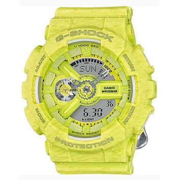 Casio G-Shock S-Series - Yellow Heather Pattern - Magnetic Resistant