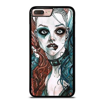 HARLEY QUINN ART iPhone 8 Plus Case Cover