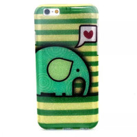Elephant Twinkle Silicagel Case Cover for iPhone & Samsung Galaxy