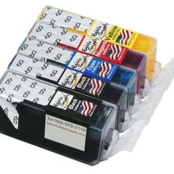 Edible Supply Edible Ink Cartridge Combo Set for Canon PGI-220/CLI-221