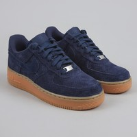 Nike Air Force 1 '07 Suede - Midnight Navy