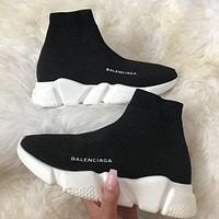 Balenciaga Woman Men Boots Fashion Breathable Sneakers Running Shoes-9