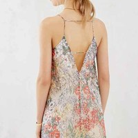 Love Sadie Floral Square-Neck Shift Dress