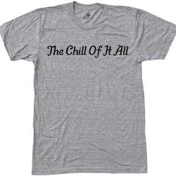 Chill Of It All - Heather Grey