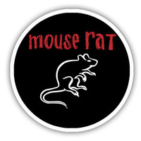 Mouse Rat Parks and Rec Inspired Vinyl Decal Sticker