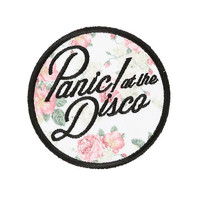 Panic! At The Disco Floral Patch