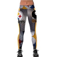 Steelers Painted Women's Smooth leggings