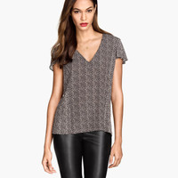 H&M Top with Butterfly Sleeves $12.95