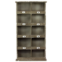 Woodland Imports Manhattan's 10 Sectioned Fancy Cabinet & Reviews   Wayfair