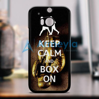 Keep Calm Wwe Boxing Gloves HTC One M8 Case | armeyla.com