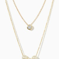 Avra Pearl Necklace | Fashion Jewelry | charming charlie