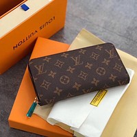Louis Vuitton LV Monogram Zipper Wallet