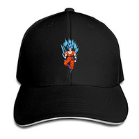 Dragon Ball Z Goku Hat Unisex-Adult Freestyle Adjustable Cap Black