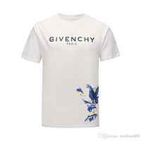 Givenchy 2020 New Men Luxury T Shirts top quality Brand Men's Tees Polos Casual Letter Print Embroidery Clothing 13- Fashion T Shirt