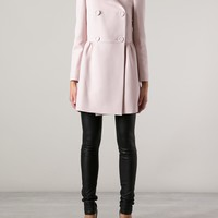 Red Valentino Double Breast Coat - Changing Room - Farfetch.com