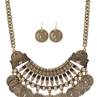 Bridie Necklace Set - Gold - One Size / Gold