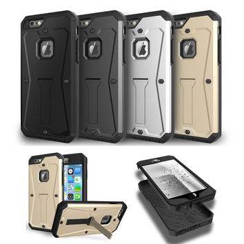 Multi Function Shell Case--Slim Lightweight Design--PC+Silicone Protective Cover