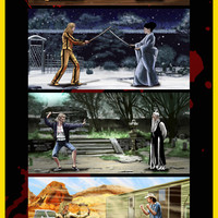 """Kill Bill Deadly Fights"" by Daniel Nash"