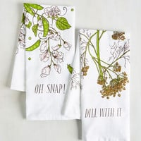 Are We Having Pun Yet? Tea Towel Set