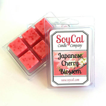Japanese Cherry Blossom -  SoyCal Wax Melts - wax melt warmers - scented wax melts - soy wax tart - scented wax melt - cherry blossom