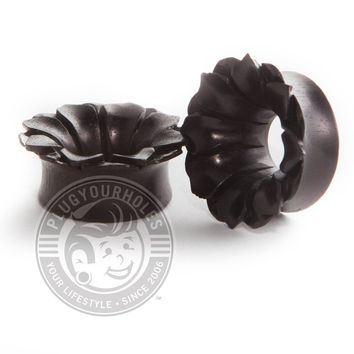 Areng Flower Carved Wood Tunnels