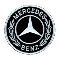 Mercedes Benz Patch Iron On Applique Alternative Clothing Luxury Car