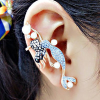 Mermaid Cuff Earring