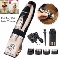 NEW Electric Animal Pet Dog Cat Hair Trimmer Shaver Razor Grooming Quiet Clipper
