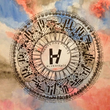 Twenty One Pilots Mandala Watercolor