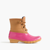 crewcuts Girls Sperry Saltwater Boots