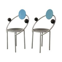 Pre-owned Vintage Memphis First Chairs - A Pair