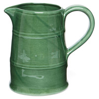 Rustic Pitcher, Green