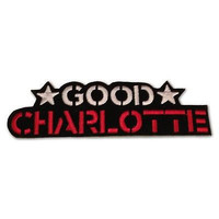 Good Charlotte Iron-On Military Style Patch