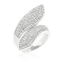 Pave Wrap Ring, size : 08
