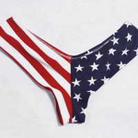 American Flag Bottom