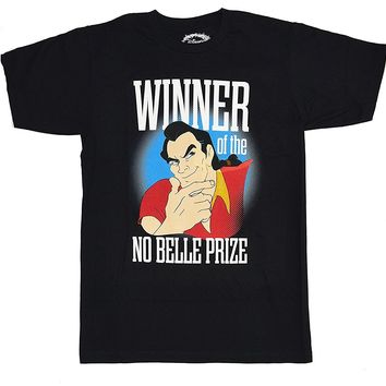Gildan Beauty and The Beast Gaston No Belle Prize T-Shirt