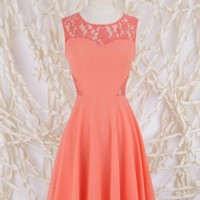 Altar'd State Dabble Detail Dress - Fit and Flare - Dresses - Apparel
