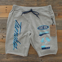 Midnight Navy Hardearnt Terry Yard Shorts