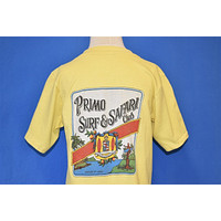 80s Primo Surf Safari Club Hawaii t-shirt Youth Large