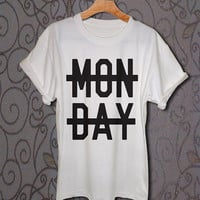 monday shirt Niall Horan monday shirt one direction shirt niall horan tshirt t-shirt tee S,M,L,XL,2XL shirt