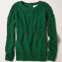 Anthropologie - Cable-Fuse Pullover