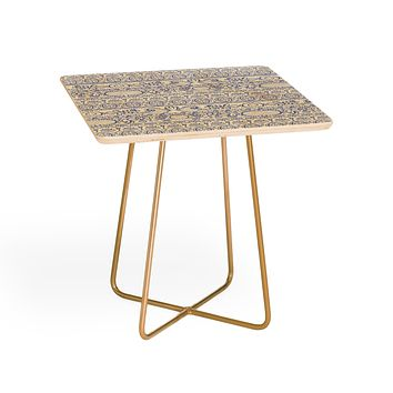 Pimlada Phuapradit Lace drawing blue and white Side Table