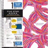 Mead Five Star Style Wirebound Notebook 1 Subject College Ruled 11 x 8 1 2 06348 | Staples